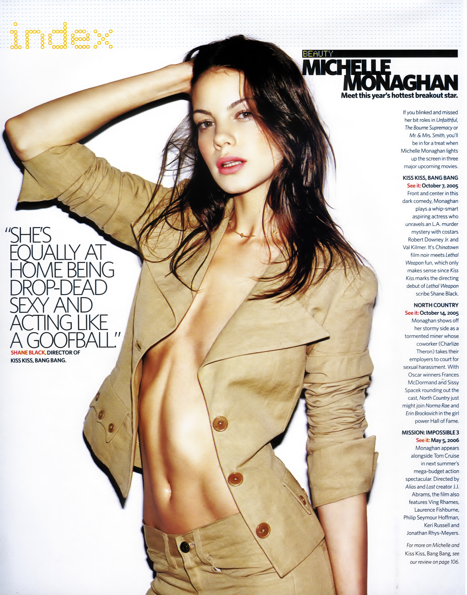 Michelle Monaghan Kiss Kiss Bang Bang Photo 17 (Мишель Монаган Фото 17