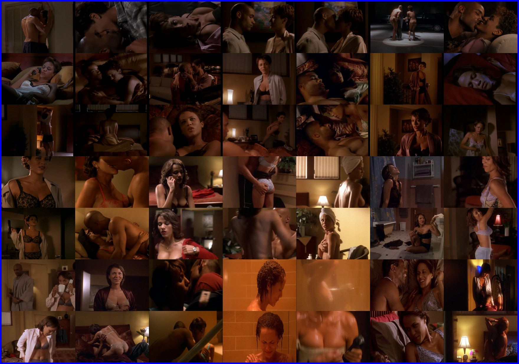 Nicole Ari Parker Breasts, Lesbian Scene In The Incredibly True Adventure Of Two Girls In Love