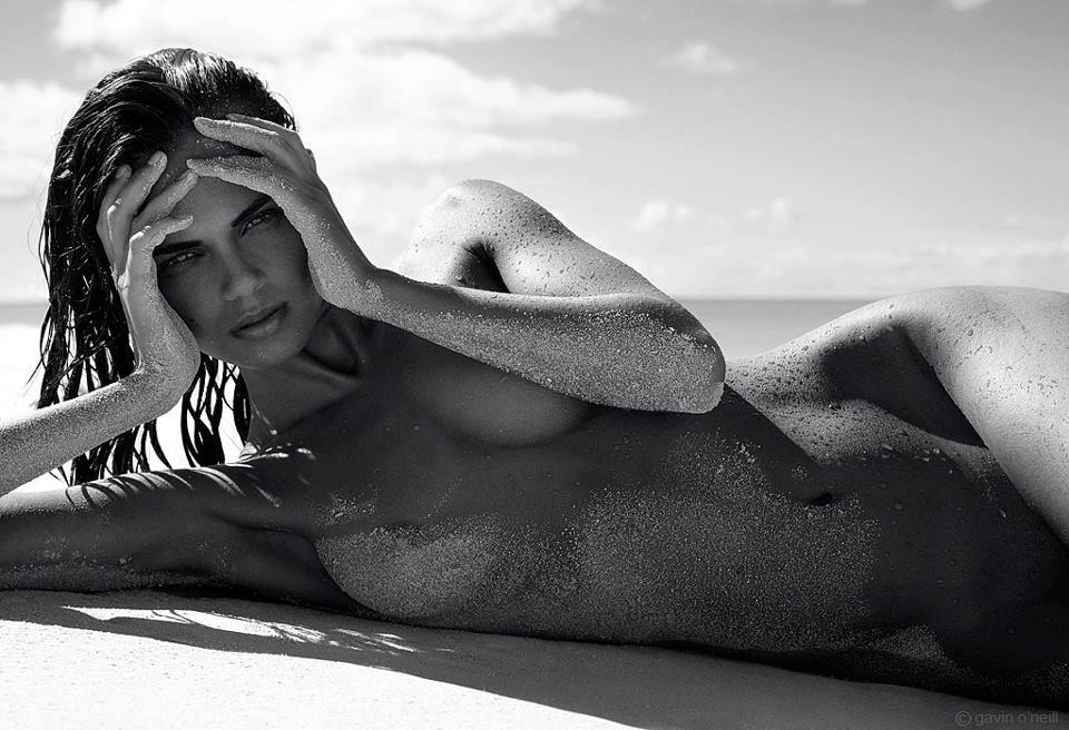 Gorgeous russian model ksenia wegner is nude