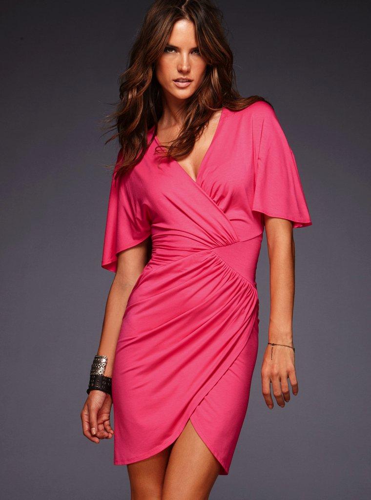 Платье из трикотажа, фото