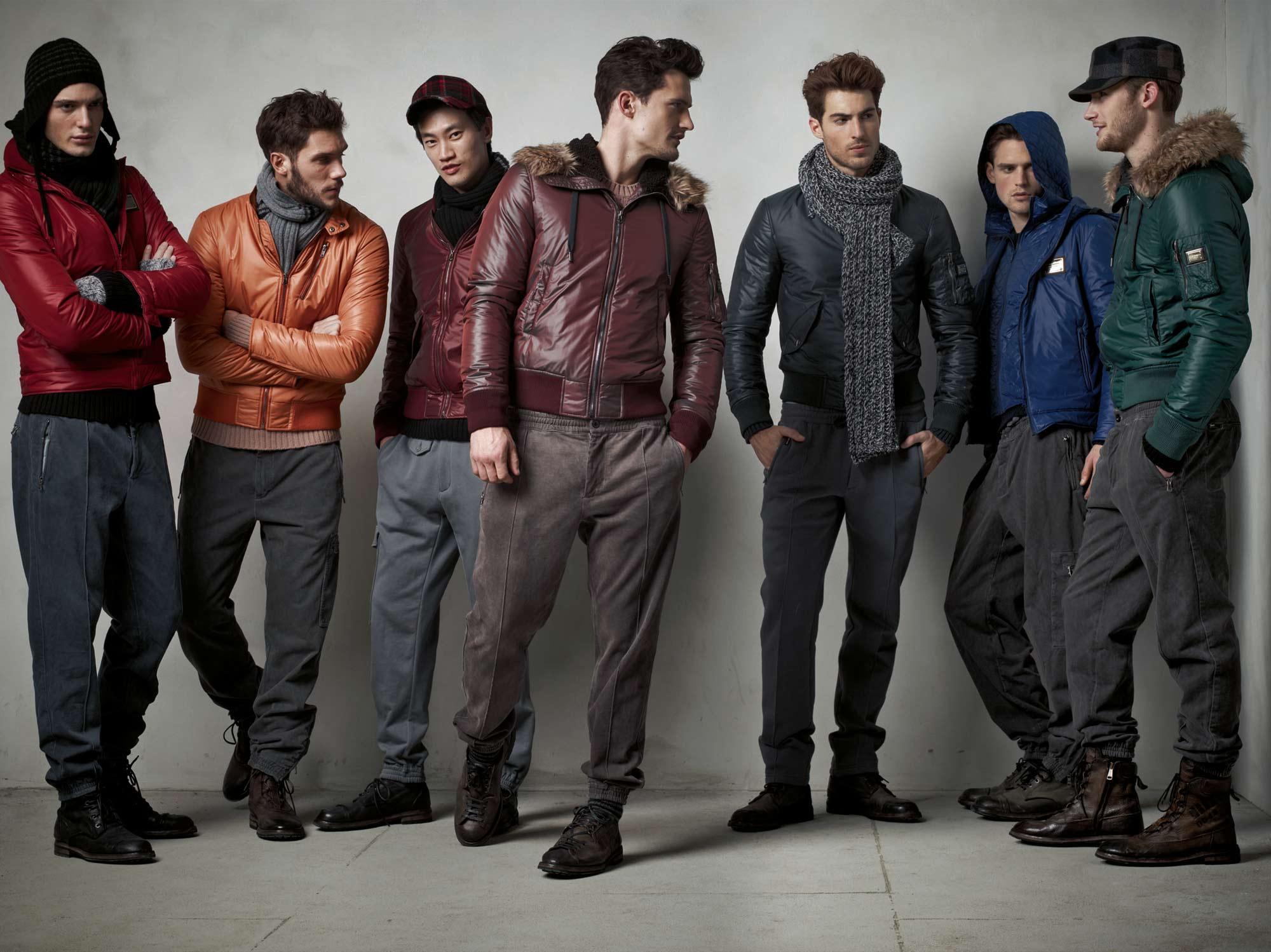 Модные Мужские Зимние Куртки