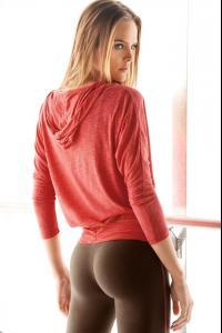 Blonde yoga pants
