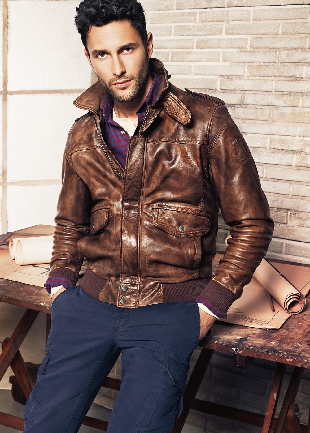 Кожаные куртки осень 4