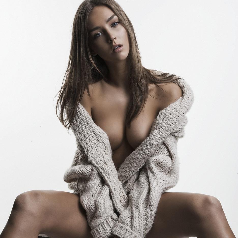 Breast Nude Model 16