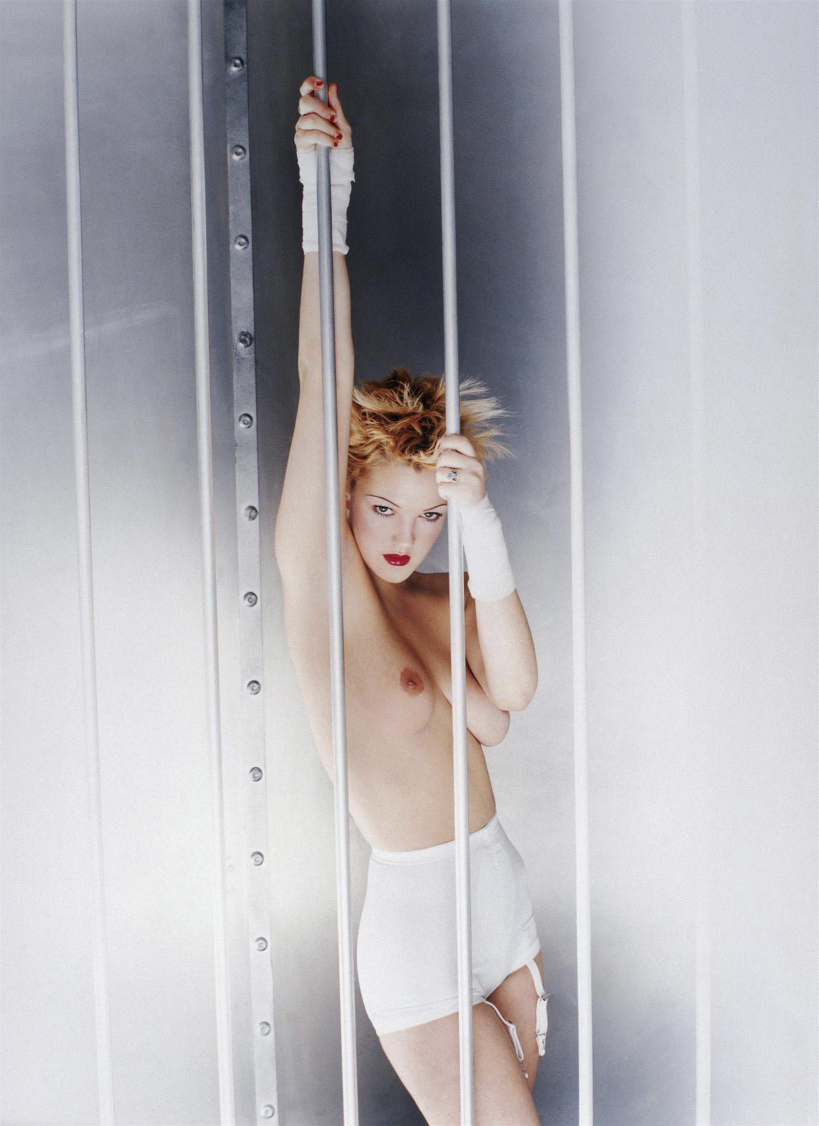 Дрю Бэрримор (Drew Barrymore). Фотосессия для журнала Premiere (1995