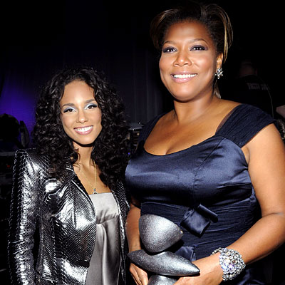 Alicia Keys, Queen Latifah, 2008 Black Ball for Keep a Child Alive