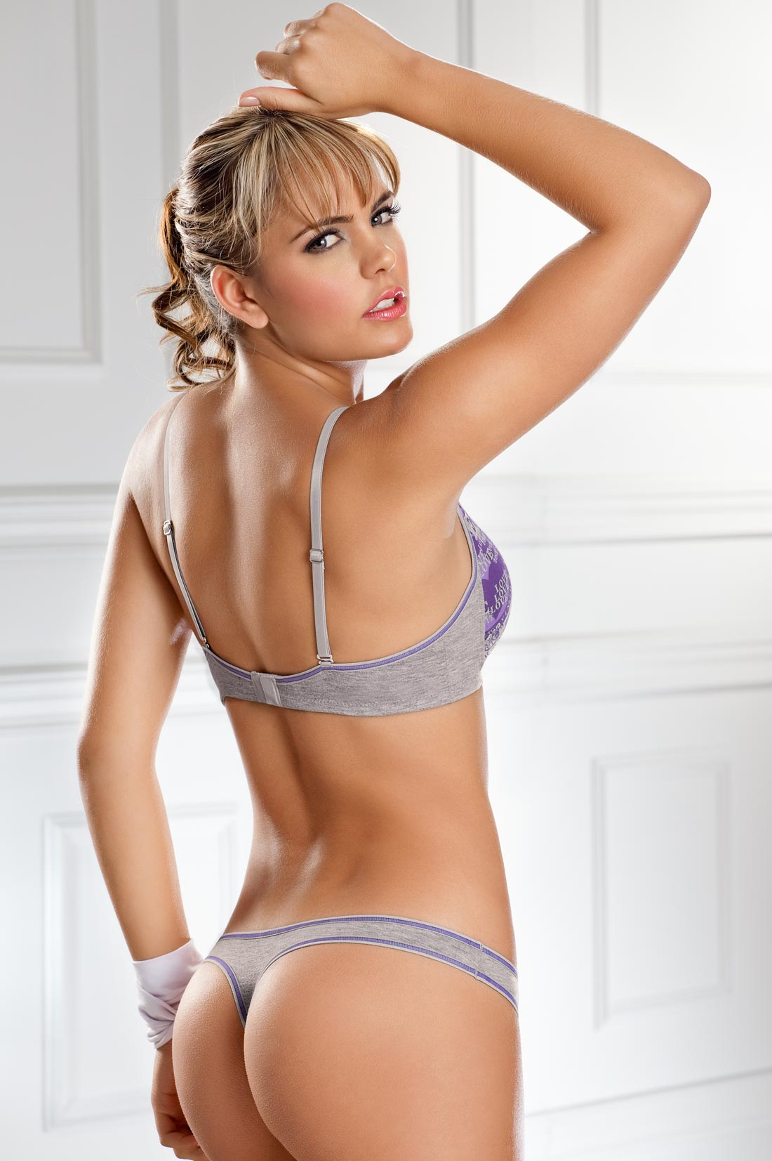 Melisa lingerie softcore clip