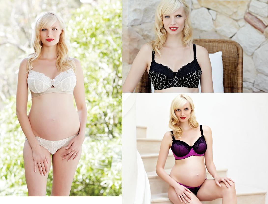 pregnant blonde model for cake lingerie - model id - bellazon
