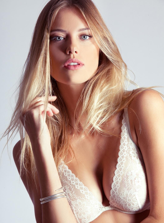 top blonde models