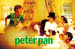 Peter Pan editorial Vogue magazine, 1991 3.jpg
