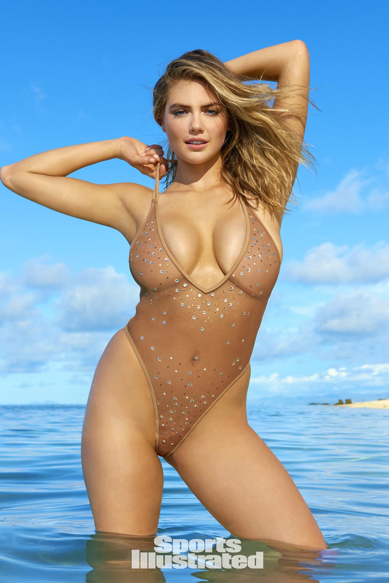 New Plus size sports illustrated swimsuit model that