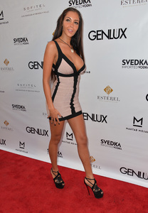 Nabilla Benattia Genlux Magazine Release party in LA_082913_6.jpg