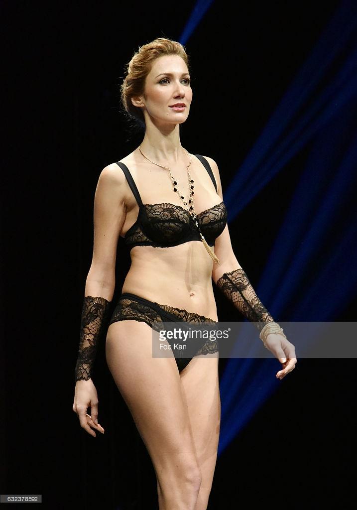 8f2533b0cd Lise Charmel lingerie show model @ 2017 Paris Fashion Week - Model ...