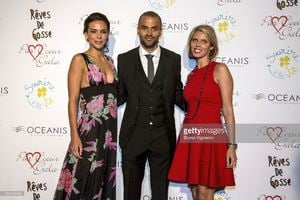 marine-lorphelin-miss-france-2013-tony-parker-and-sylvie-tellier-miss-picture-id456122456.jpg