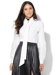 Cerelina Proesl New York & Company 7th Avenue Design Studio - Drama Tie Blouse 01427997_016_av1.jpg