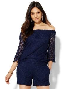 Cerelina Proesl New York & Company 7th Avenue Design Studio - Lace Off-The-Shoulder Blouse 01547874_180_av1.jpg