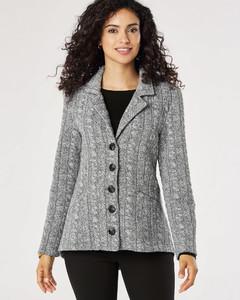 Gabriela Salvado Pendleton 5-Button Knit Jacket 45341_D586.jpg