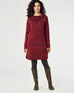 Gabriela Salvado Pendleton Hooded Merino Wool Sweater Dress 48144_8540.jpg