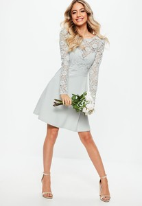 bridesmaid-grey-backless-lace-bow-detail-skater-dress (2).jpg