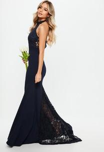 bridesmaid-navy-halterneck-lace-insert-fishtail-dress (3).jpg