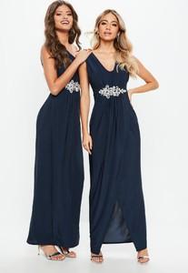 bridesmaid-navy-plunge-diamante-trim-waist-maxi-dress (1).jpg
