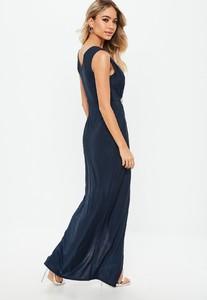 bridesmaid-navy-plunge-diamante-trim-waist-maxi-dress (2).jpg
