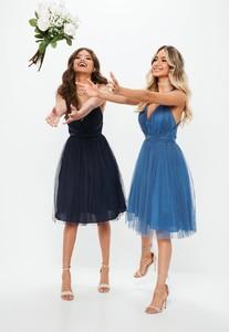 bridesmaids-blue-mesh-plunge-mini-skater-dress (1).jpg