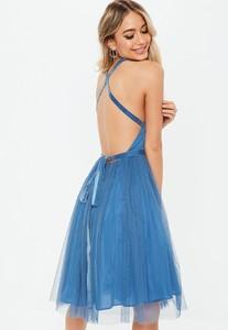 bridesmaids-blue-mesh-plunge-mini-skater-dress (2).jpg
