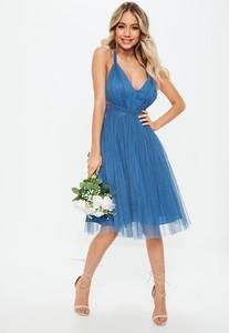 bridesmaids-blue-mesh-plunge-mini-skater-dress (3).jpg