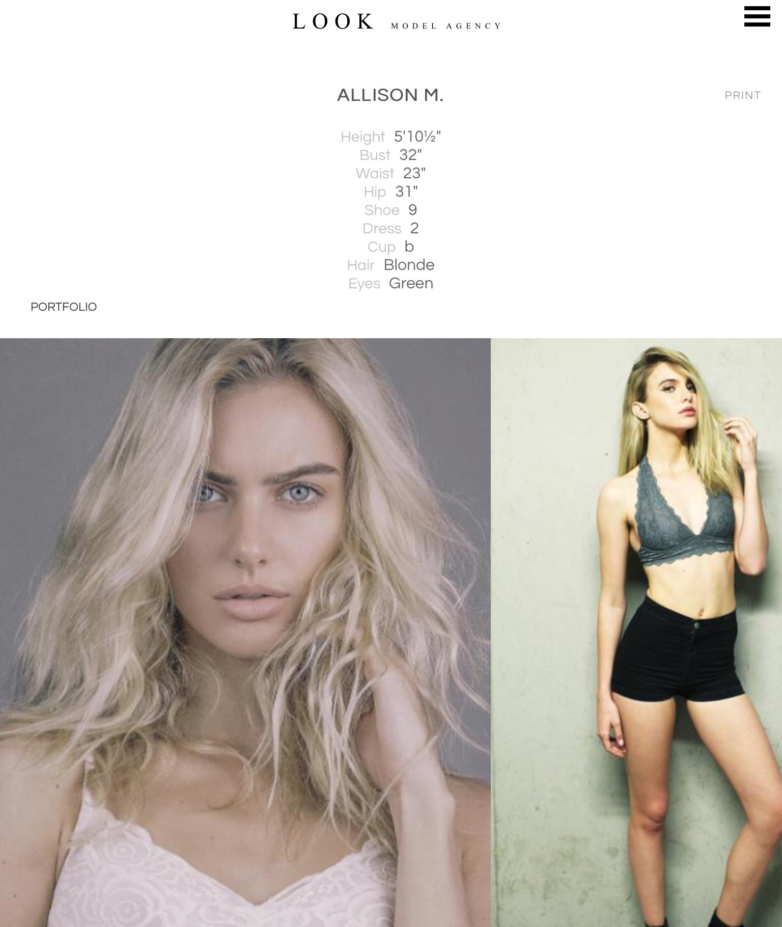 Allison Mason - Female Fashion Models - Bellazon