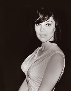 Yvonne Craig - checkered dress.jpg