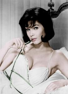 Yvonne Craig - lowcut green dress.jpg