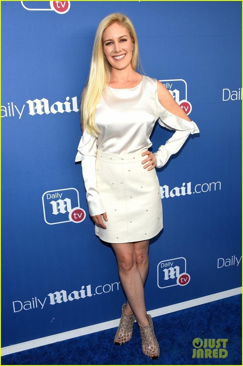 Heidi Montag Blue Dress