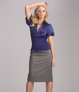ABS by Allen Schwartz Smock-Waist Top & Pencil Skirt03001192_zi.jpg