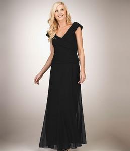 Alex Evenings Woman Pleated Mesh Gown.jpg