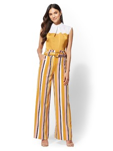 Cerelina Proesl New York & Company 7th Avenue Pant - Stripe Palazzo 03103938_066_av4.jpg