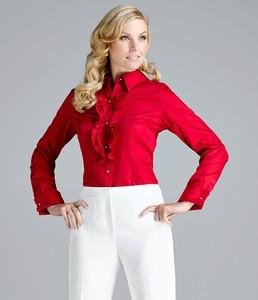 Alex Marie Blair Woven Shirt holiday_red.jpg