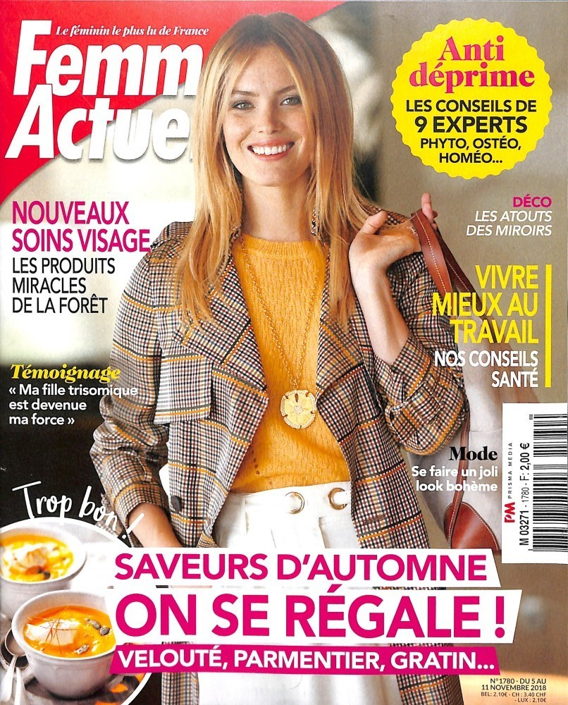Femme Actuelle Models - Page 30 - General Discussion - Bellazon 24a8c650f11
