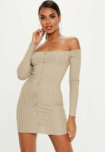 sand-ribbed-bardot-button-knitted-mini-dress.jpg