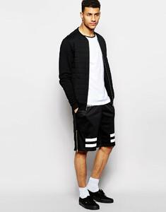 criminal-damage-black-shorts-in-mesh-with-stripes-print-mini-shorts-product-1-21463730-2-232512520-normal.jpeg
