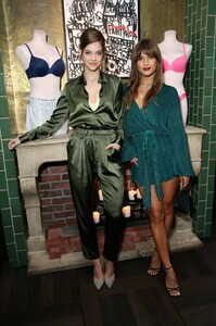 [1140836064] Angel Barbara Palvin And Rocky Barnes Celebrate The New Incredible By Victoria's Secret Collection In Los Angeles [1].jpg
