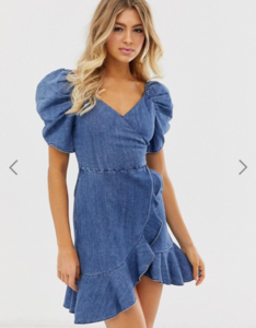 Screenshot_2019-05-29 Miss Sixty denim flare dress with strap detail ASOS.png