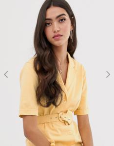 Screenshot_2019-07-09 ASOS DESIGN Tall denim belted midi dress in buttermilk ASOS.png