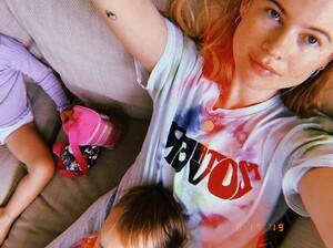 Behati Prinsloo Levine on Instagram_ _Helping out(JPG).jpg