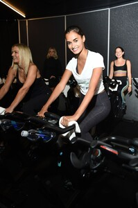 [1175607858] Victoria's Secret Angel Cycle To End Cancer Hosted By Angels Martha Hunt, Josephine Skriver, Alexina Graham, Chey Carty, Gizele Oliveira, Josie Conseco, Lorena Duran And Sofie Rovenstine At Flywhee.jpg