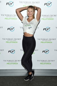 [1175607802] Victoria's Secret Angel Cycle To End Cancer Hosted By Angels Martha Hunt, Josephine Skriver, Alexina Graham, Chey Carty, Gizele Oliveira, Josie Conseco, Lorena Duran And Sofie Rovenstine At Flywhee.jpg