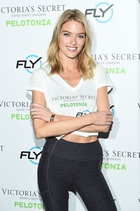 [1175607250] Victoria's Secret Angel Cycle To End Cancer Hosted By Angels Martha Hunt, Josephine Skriver, Alexina Graham, Chey Carty, Gizele Oliveira, Josie Conseco, Lorena Duran And Sofie Rovenstine At Flywhee.jpg