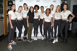 [1175607766] Victoria's Secret Angel Cycle To End Cancer Hosted By Angels Martha Hunt, Josephine Skriver, Alexina Graham, Chey Carty, Gizele Oliveira, Josie Conseco, Lorena Duran And Sofie Rovenstine At Flywhee.jpg