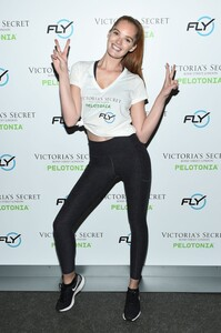[1175607242] Victoria's Secret Angel Cycle To End Cancer Hosted By Angels Martha Hunt, Josephine Skriver, Alexina Graham, Chey Carty, Gizele Oliveira, Josie Conseco, Lorena Duran And Sofie Rovenstine At Flywhee.jpg