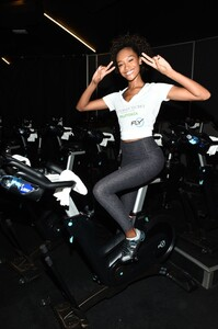 [1175607866] Victoria's Secret Angel Cycle To End Cancer Hosted By Angels Martha Hunt, Josephine Skriver, Alexina Graham, Chey Carty, Gizele Oliveira, Josie Conseco, Lorena Duran And Sofie Rovenstine At Flywhee.jpg